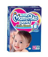 Mamy Poko Pants Extra Absorb (7-12 Kg), 56 Pcs - Medium