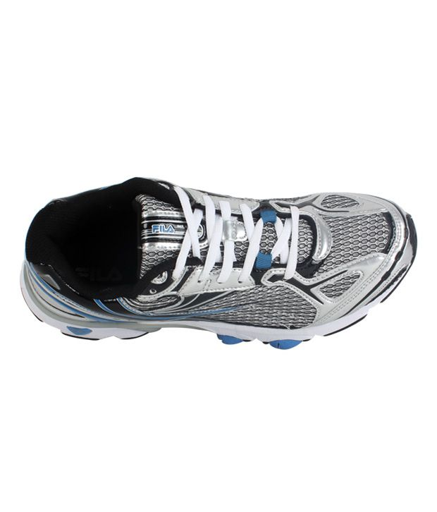 Fila Temptation Black & Silver Sport Shoes