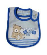Baby Boo Bibs Blue-Set Of 2