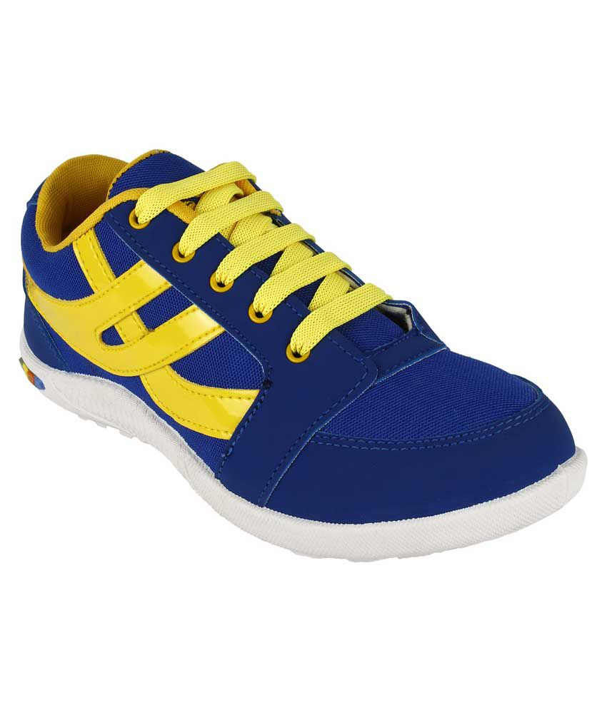 vivaan footwear blue canvas sport shoes price in india