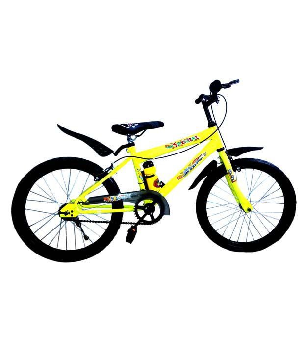 Jj Cycles Yellow 16 Inch Bicycle For Boys: Buy Online @ Rs ...