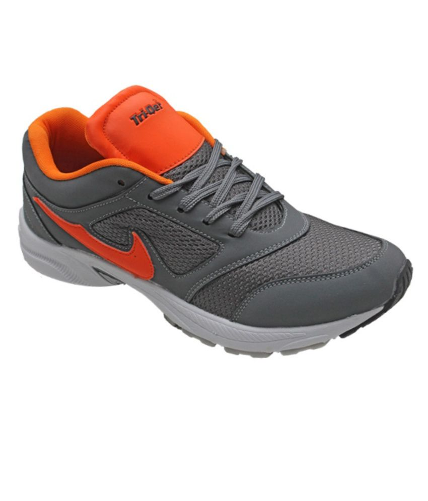 triqer grey sports shoes price in india buy triqer grey