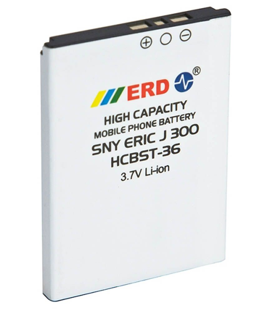ERD 650mAh Battery (For Sony Ericsson J300/K320i/K510C/K510i/K310/K320)