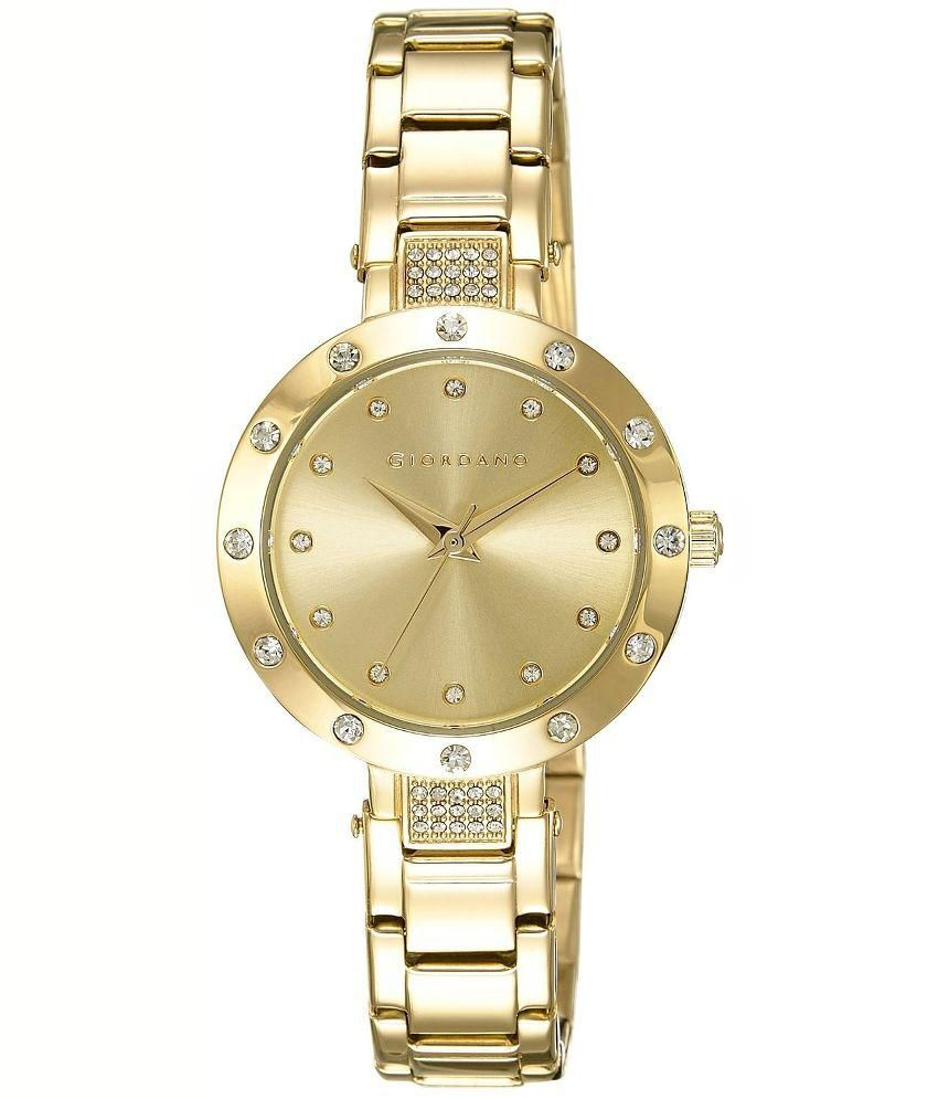 giordano golden analog for price in india buy