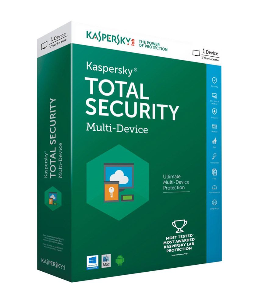 kaspersky total security multi device latest version 1 pc. Black Bedroom Furniture Sets. Home Design Ideas