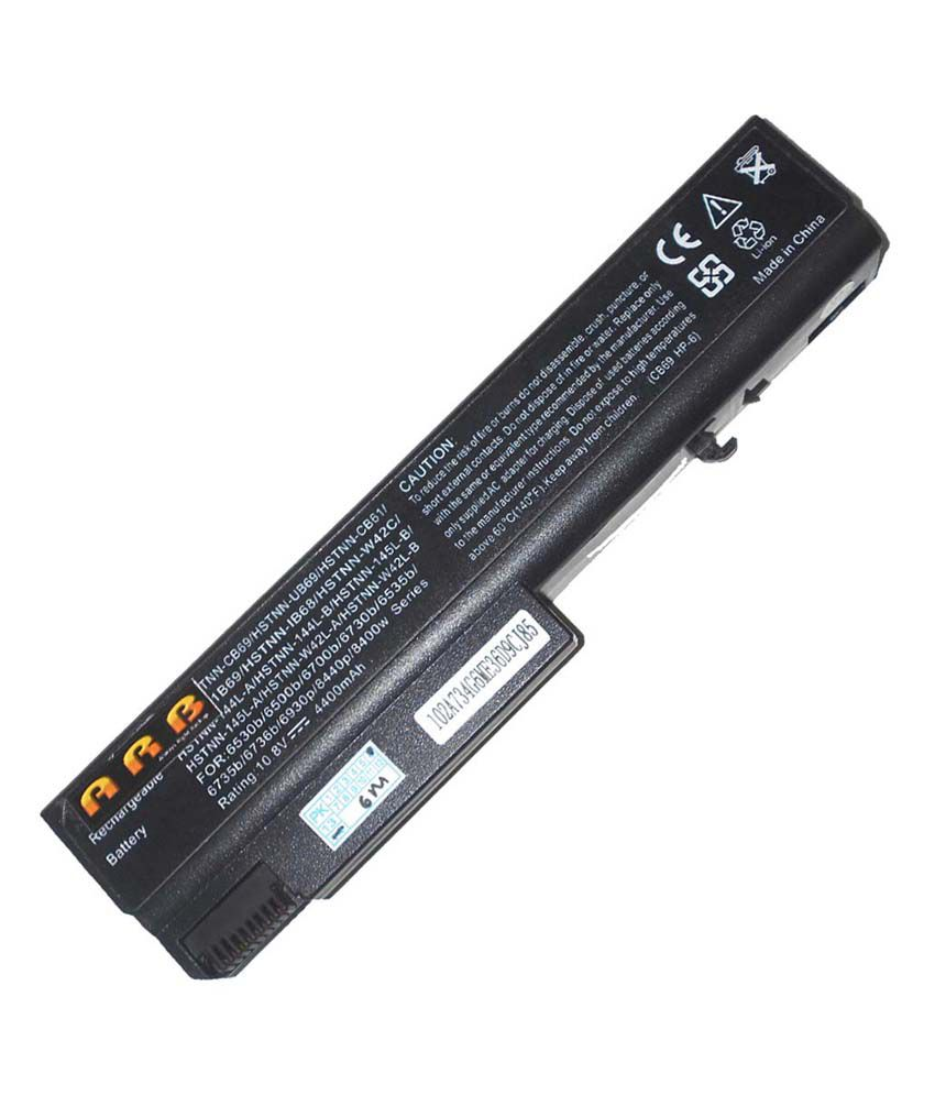 ARB 4400mAh Li-Ion Laptop Battery Compatible For HP Compaq NX6320/CT 6 Cell