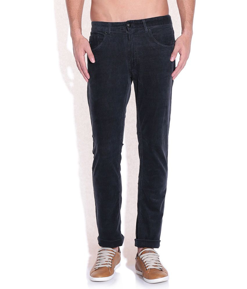 Flying Machine Gray Slim Fit Trousers