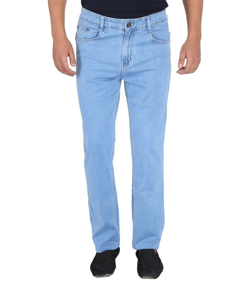 Denim-O Blue Cotton Jeans