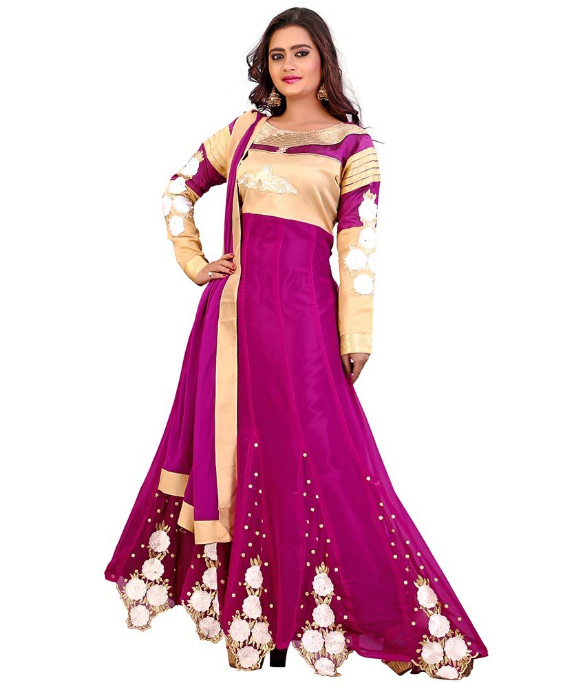 ... Georgette Unstiched Dress Material Online at Low Price - Snapdeal.com