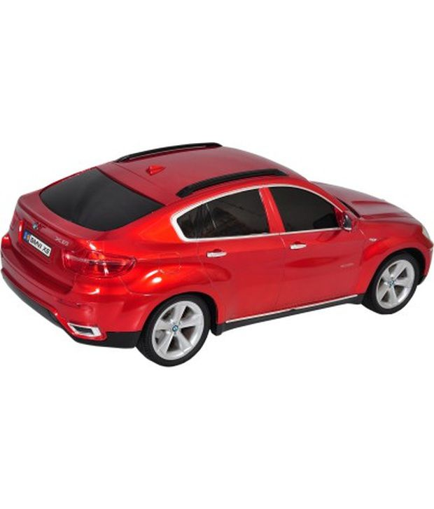 Bmw X6 Price Used: Mera Toy Shop BMW X6 1:10 Scale Remote Control Car Red