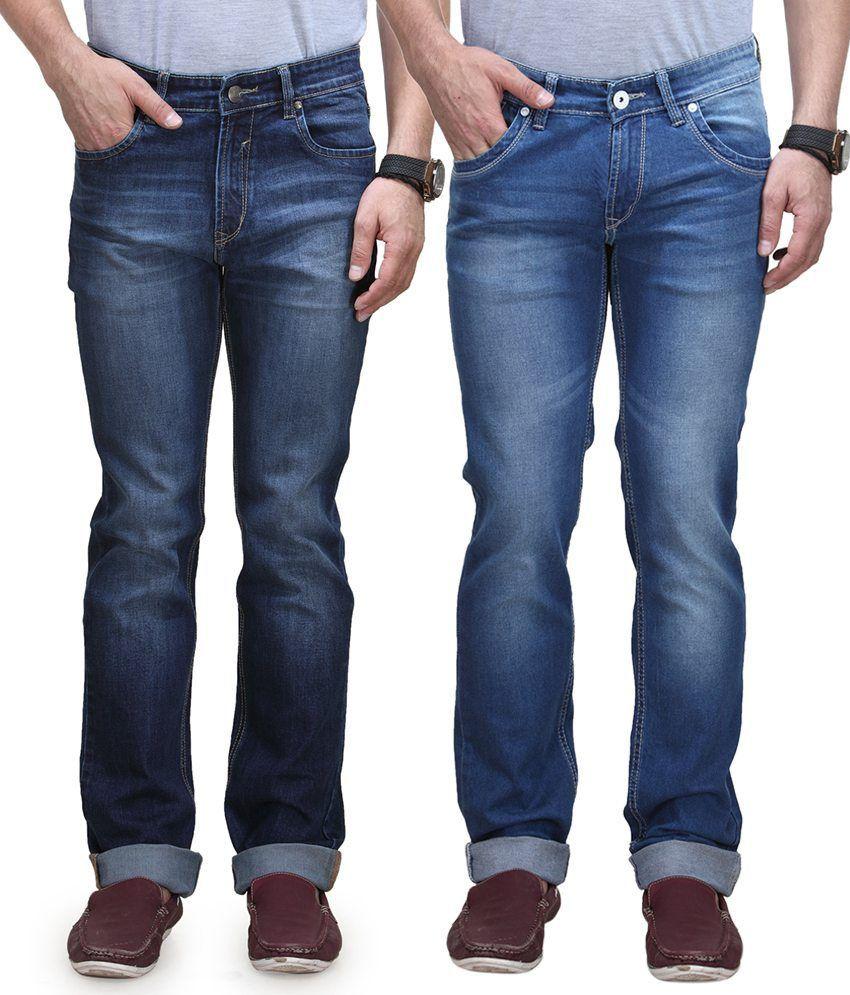 Vintage Blue Jeanswear Blue Regular Jeans