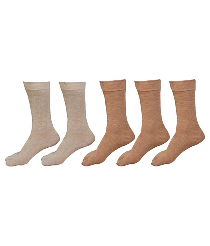 badf1874d Lotus Leaf Multicolour Woolen Socks For Women- Pack of 5  Buy Online at Low  Price in India - Snapdeal