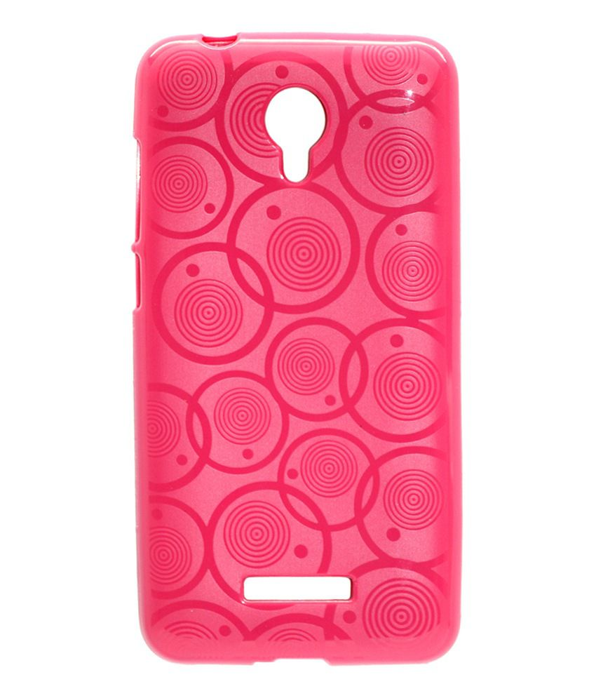 sports shoes 7197f 1586c Gizmofreaks Designer Back Cover for Micromax Canvas Spark Q380 - Pink