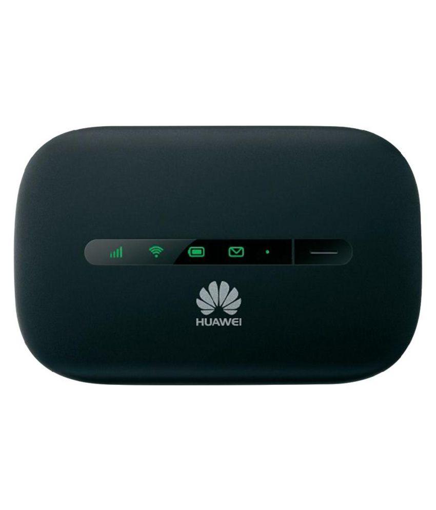 Huawei E5330 21mbps 3g Hspa Wifi Modem - Black