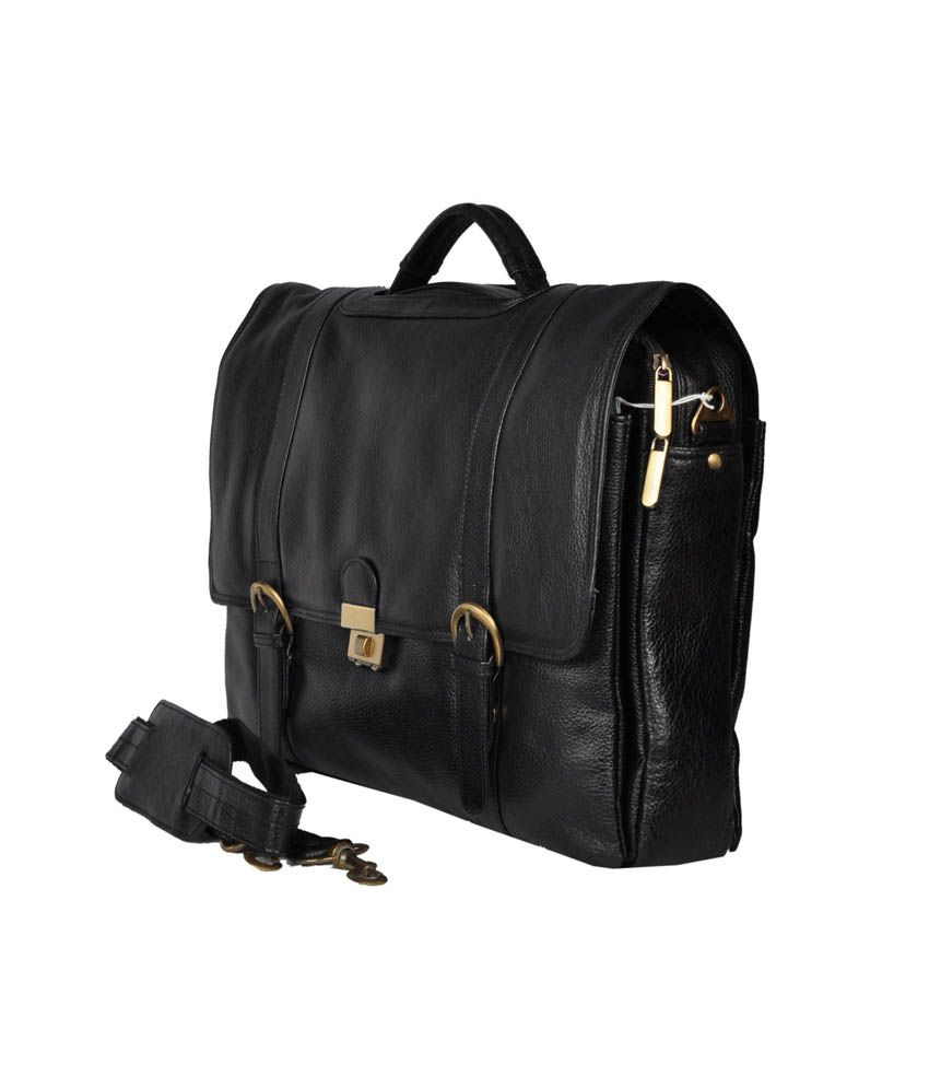 Bag Jack Black Leather Vir Bag