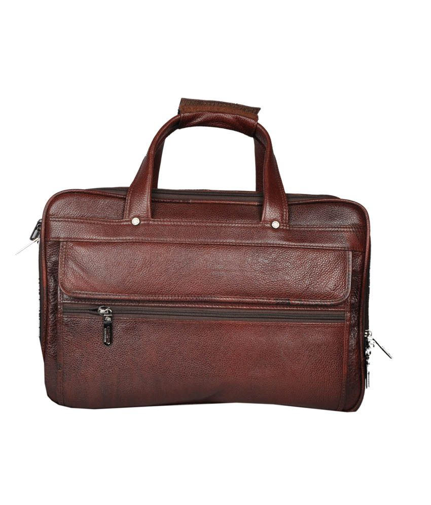Bag Jack Arcturus Brown Leather Office Messenger Bag