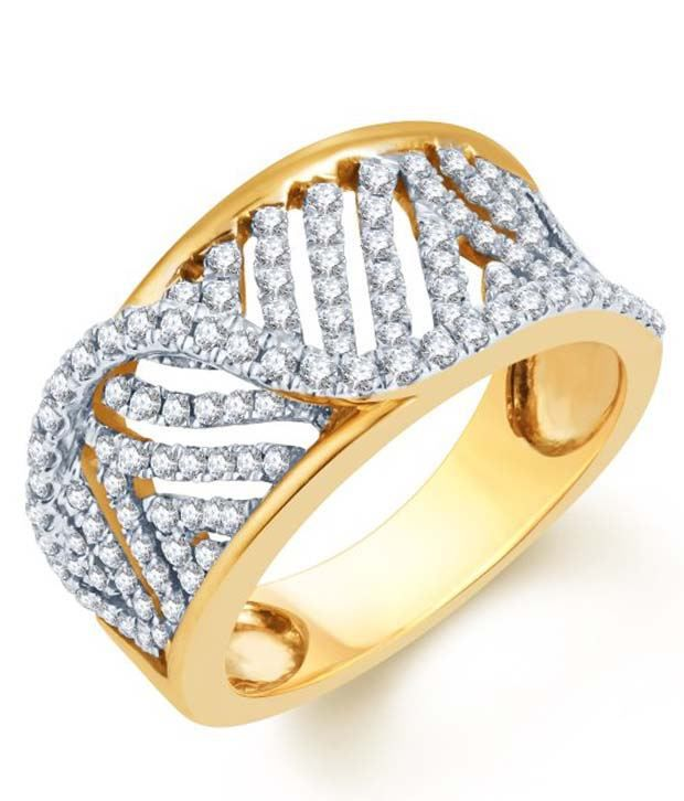 KaratCraft 18kt Diamond Ring