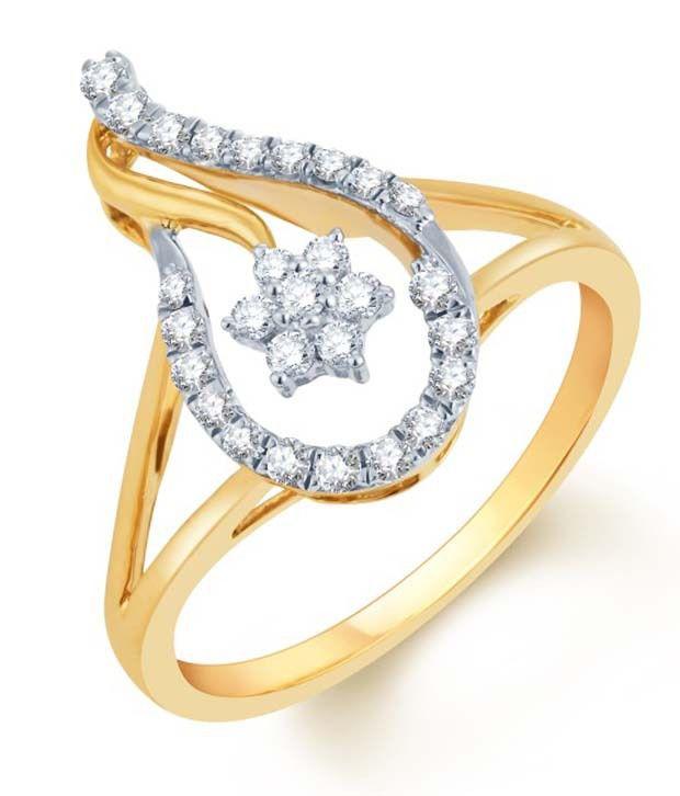 KaratCraft 18kt Diamond Ring