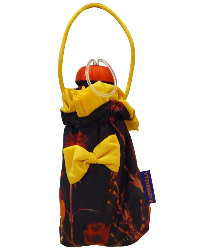 1a51e6a5cda88 ... Mohendra Dutt & Sons Red-Black Printed Five Fold Umbrella With Cover ...