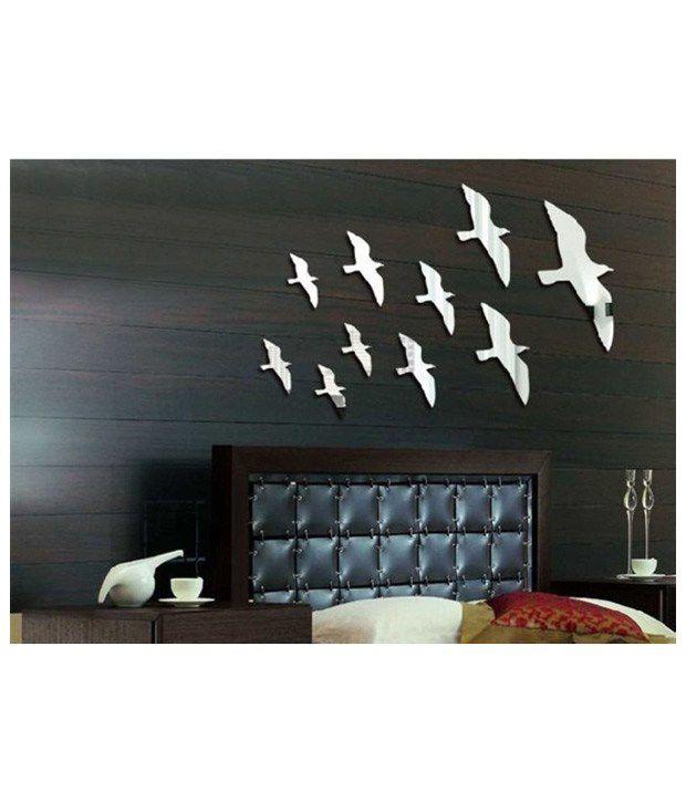 Elite collection 3d acrylic home decor wall sticker for Stickers porte de douche