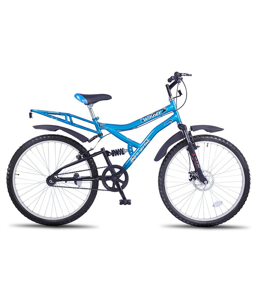 c4d02cfac1e Hero Sprint 26T Winner Single Speed Adult Cycle - Blue Adult Bicycle Man Men Women   Buy Online at Best Price on Snapdeal