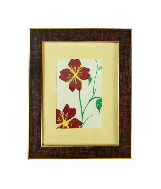R S Jewels Flora Designs Paper Painting