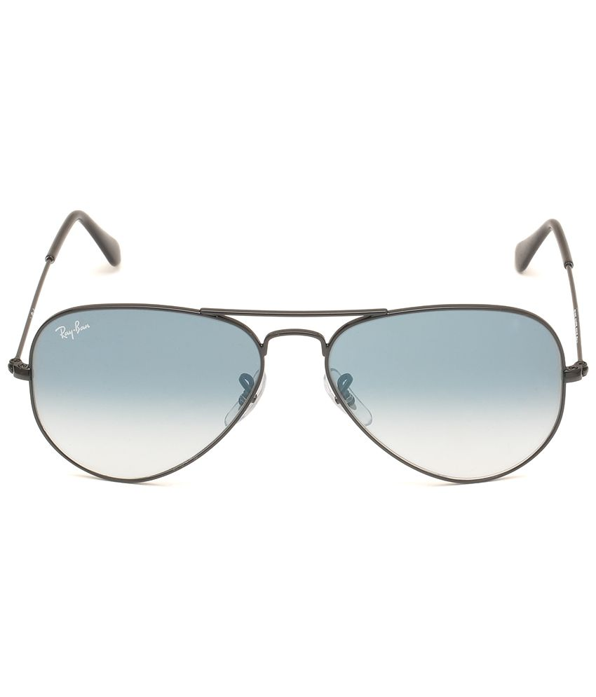 ray ban aviator 55  Ray-Ban Blue Aviator Sunglasses (RB3025 002/3F 55) - Buy Ray-Ban ...