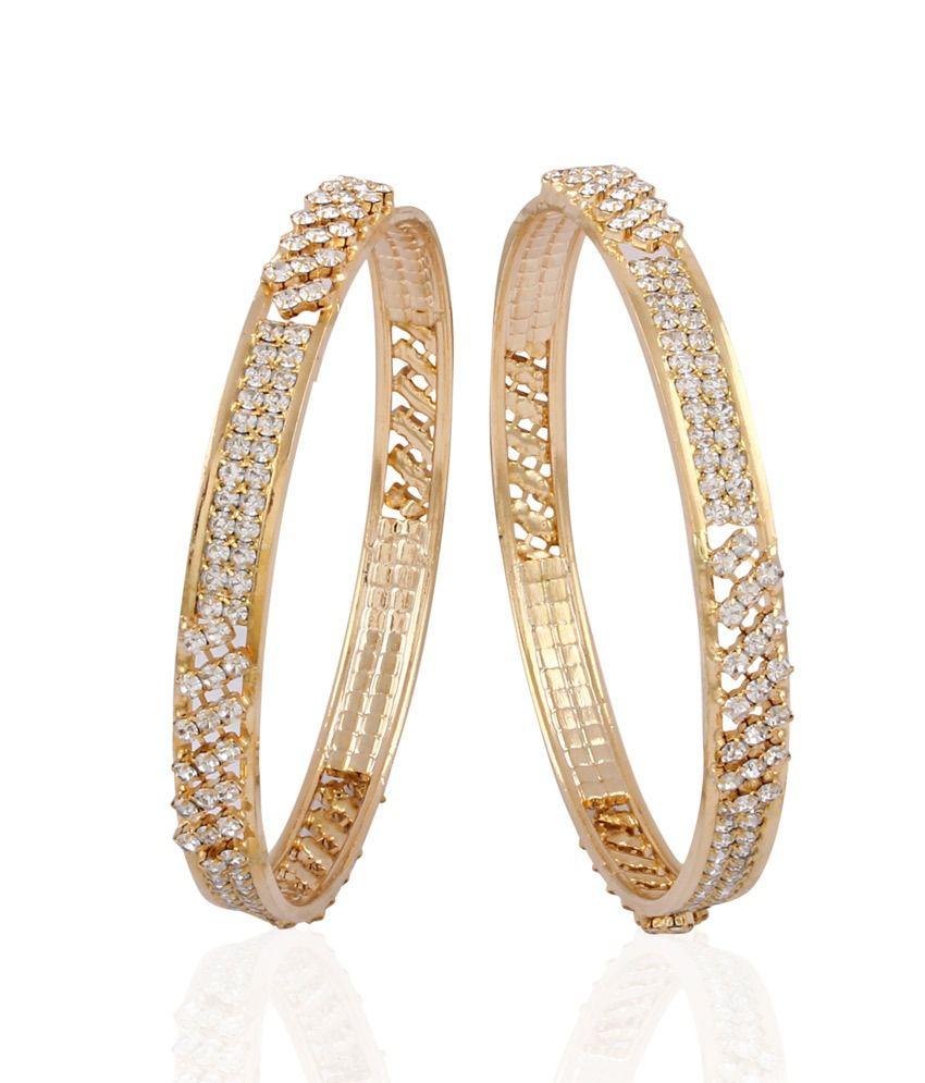 Accessher Big Bang Diamond Bangles