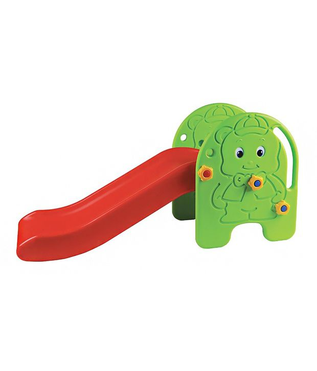 Edu-play Baby Slide - Green and Red