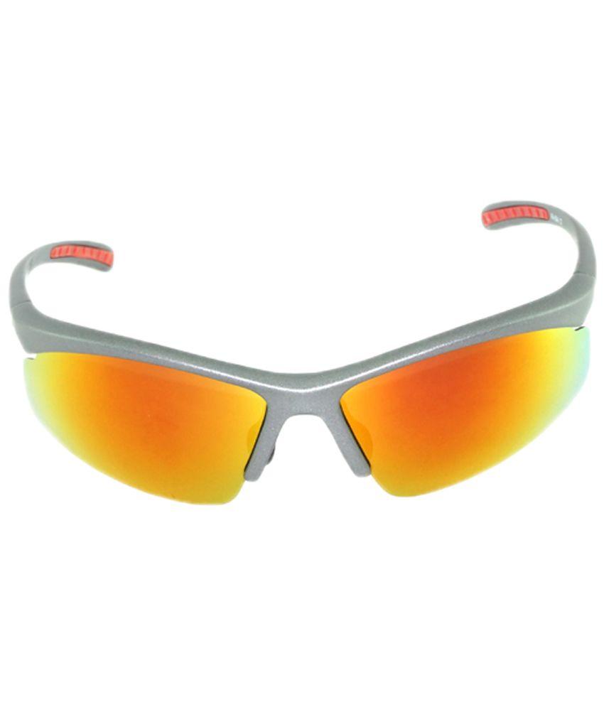 I-GOG Yellow & Gray Sports Sunglasses