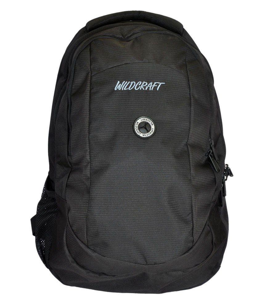b5e6547ce4959 Wildcraft CL2 Black Laptop Bag - Buy Wildcraft CL2 Black Laptop Bag Online  at Low Price - Snapdeal