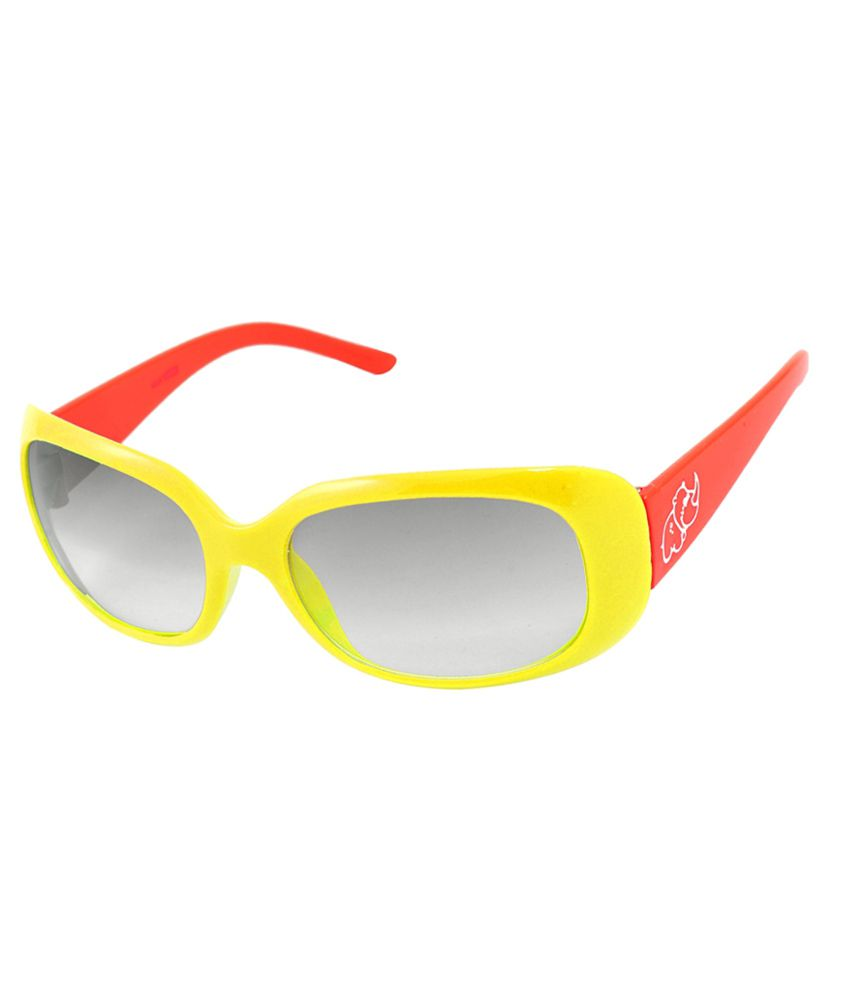 Fair-X Stylish Non Metal Yellow and Red Sunglasses