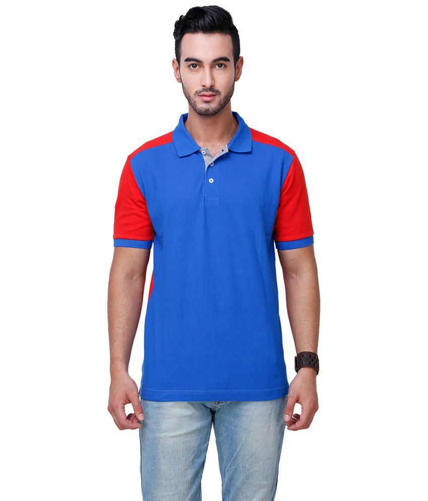 yepme blue red reverie polo t shirt for men buy yepme blue red reverie polo t shirt for. Black Bedroom Furniture Sets. Home Design Ideas