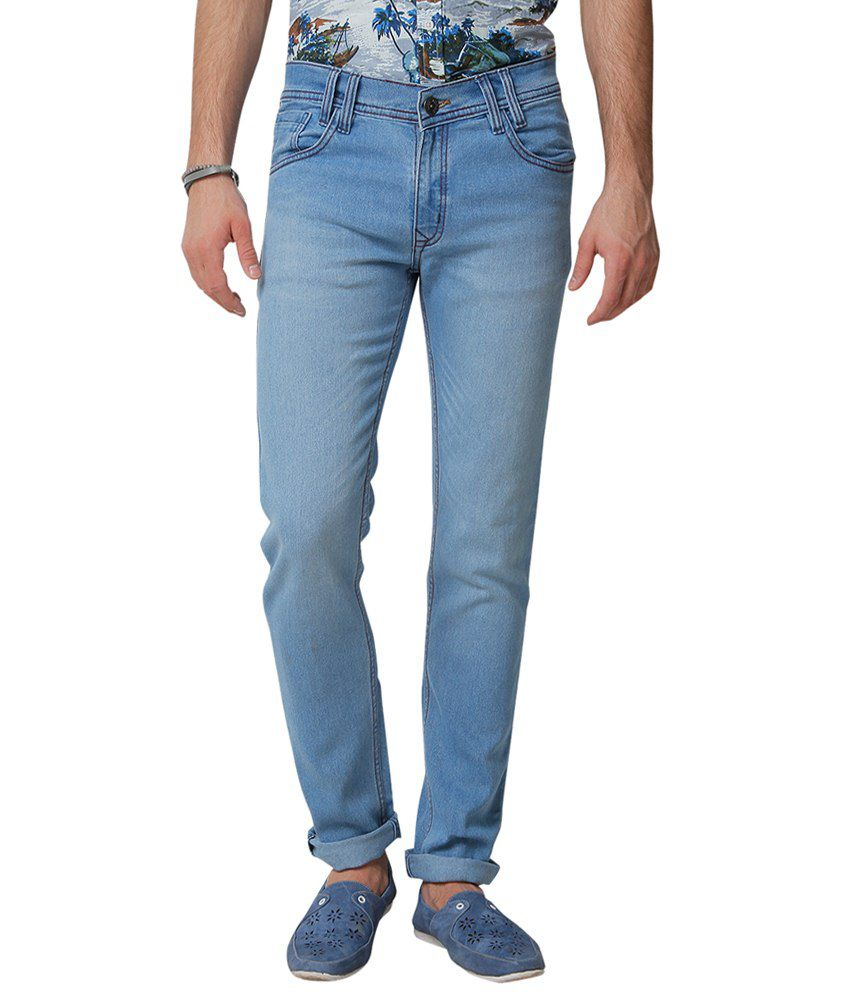 Yepme Rick Light Blue Denim For Men