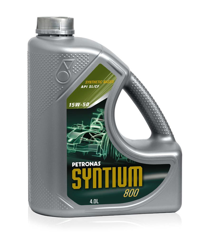 Petronas syntium 800 15w 50 synthetic engine oil 3 l for 3 in one motor oil