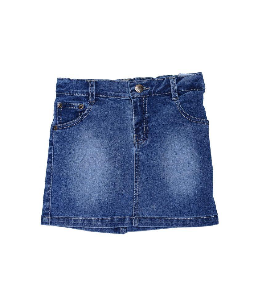 Catapult Light Blue Denim Skirt