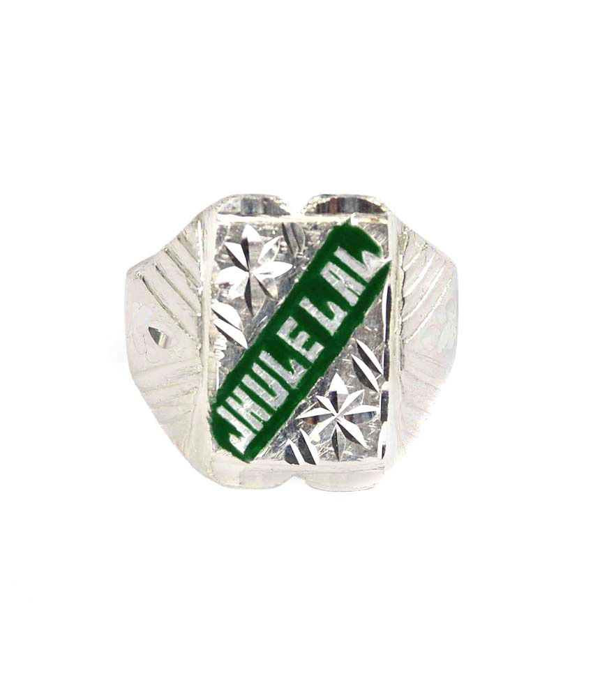 Chirag collection Silver Ring size-24