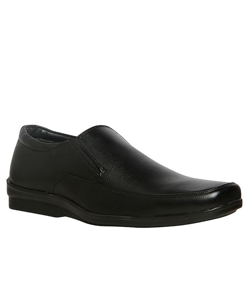 Buy Bata Solace Black Formal Shoes