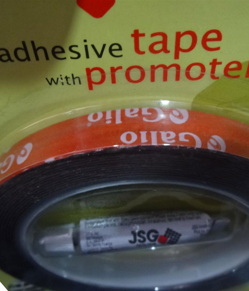 Galio Car Point 3M Double Sided Adhesive Tape 12mm x 4m with Self Adhesive  Tube - 5ml