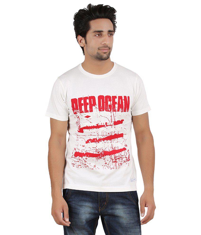 Cotton Harvest Red Cotton T Shirt