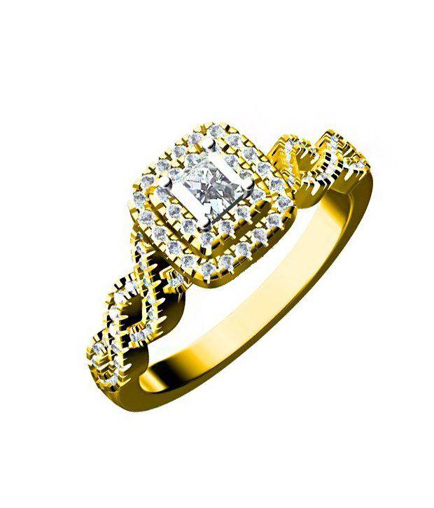 Gvj Gold Womens Ring Gvr18K1094