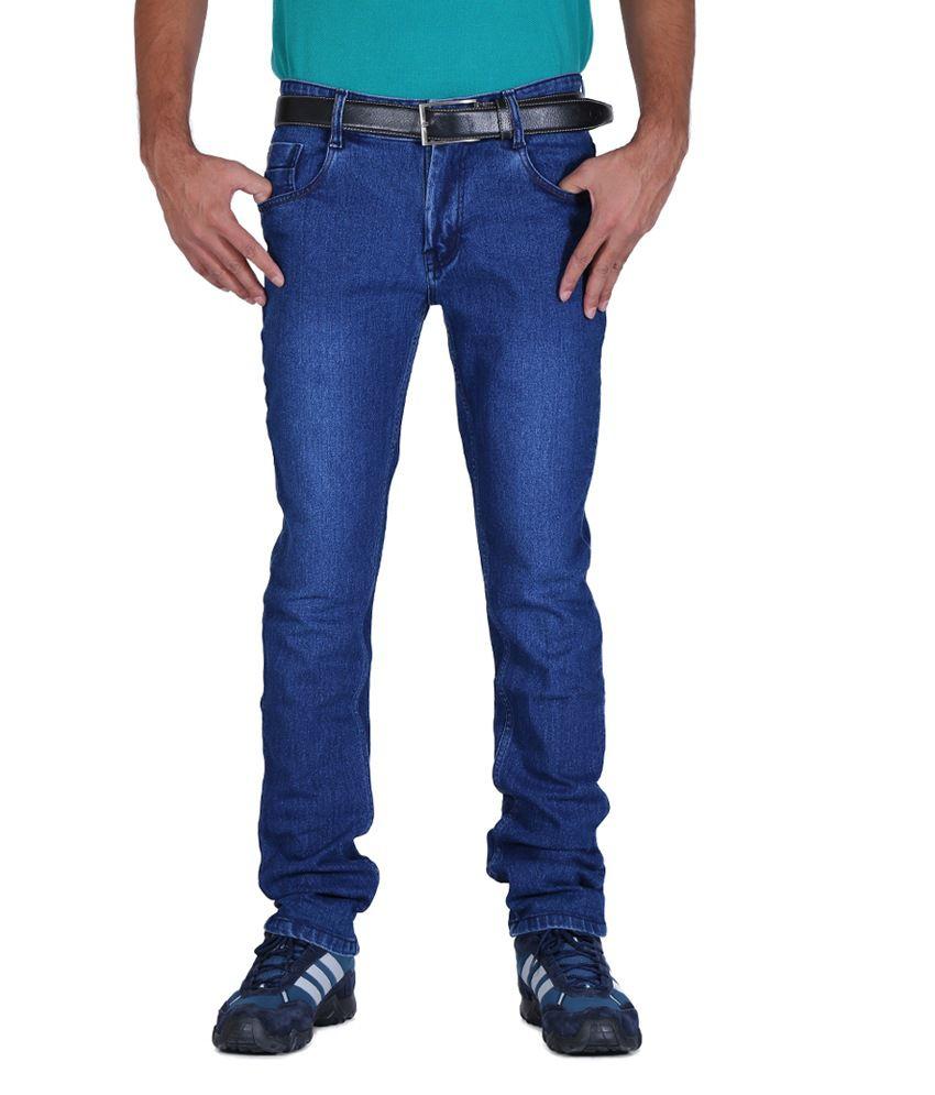 ALLY of Focker Basic Blue Stretchable Jeans