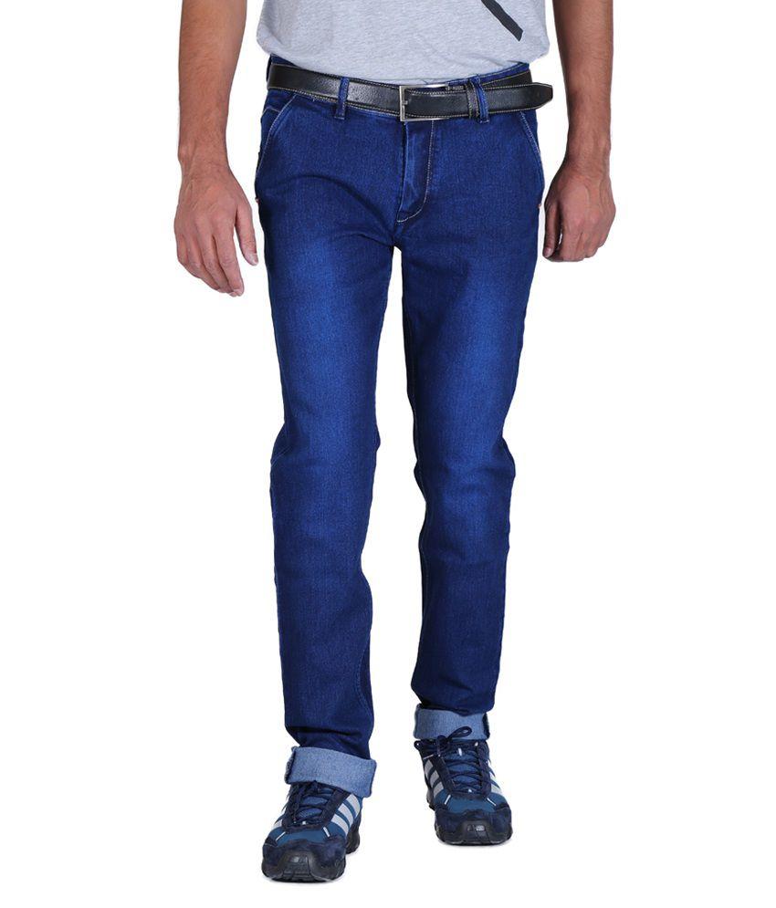 ALLY of Focker Dark Blue Stretchable Jeans