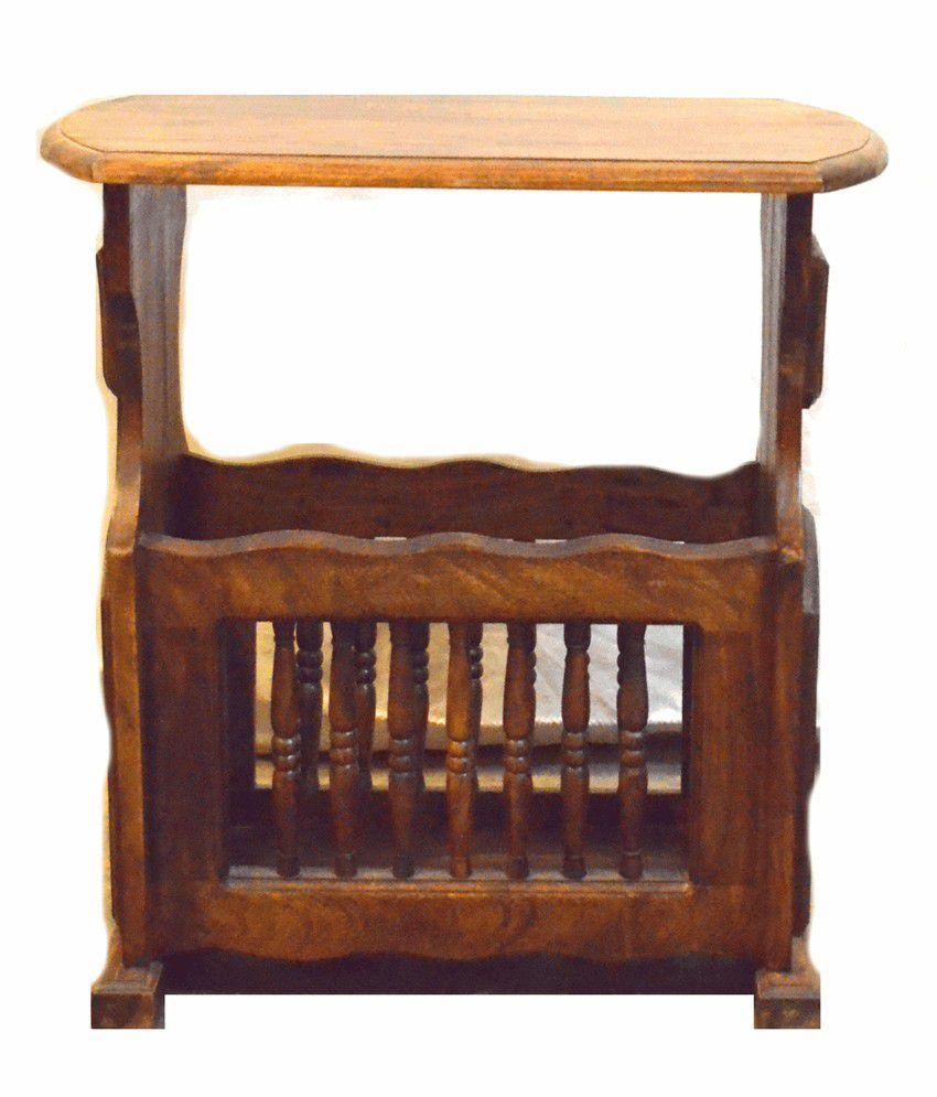 Barris Sheesham Wood Side Table