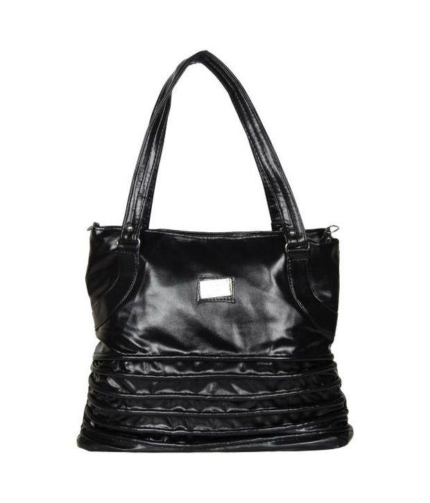 Cocktail Black Shoulder Bag