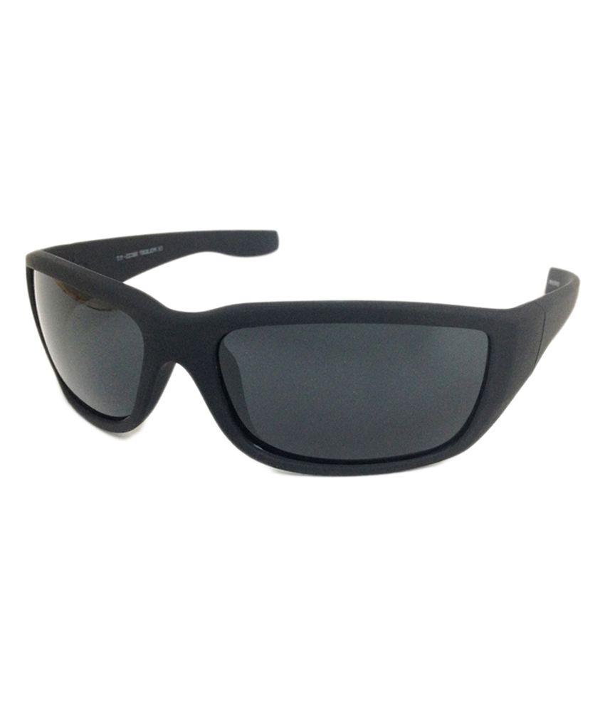 David Peters POL8287 Sports TruVu Sunglasses - Grey