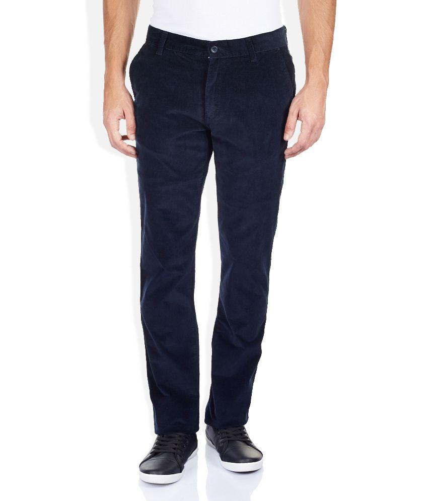 Izod Green Slim Fit Trousers