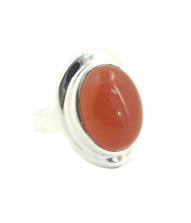 Miskasilver  92.5 Sterling Silver Contemporary Ring