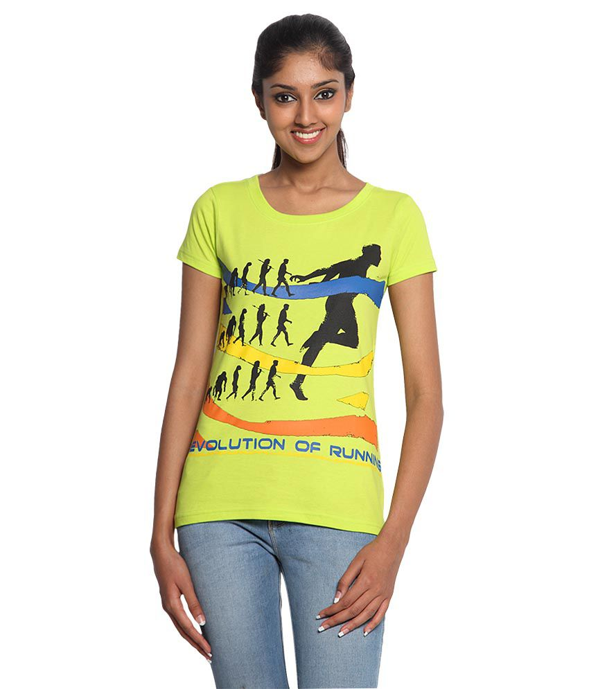 Buy Wolfpack Women Outdoor Fitness Cotton T Shirts Revolution of Running  Online at Best Prices in India - Snapdeal 9e394f343c