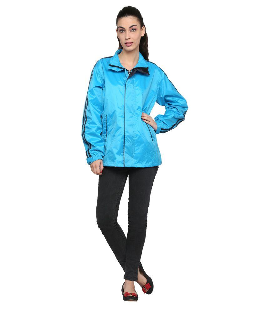 Zeel Blue Solid Jacket